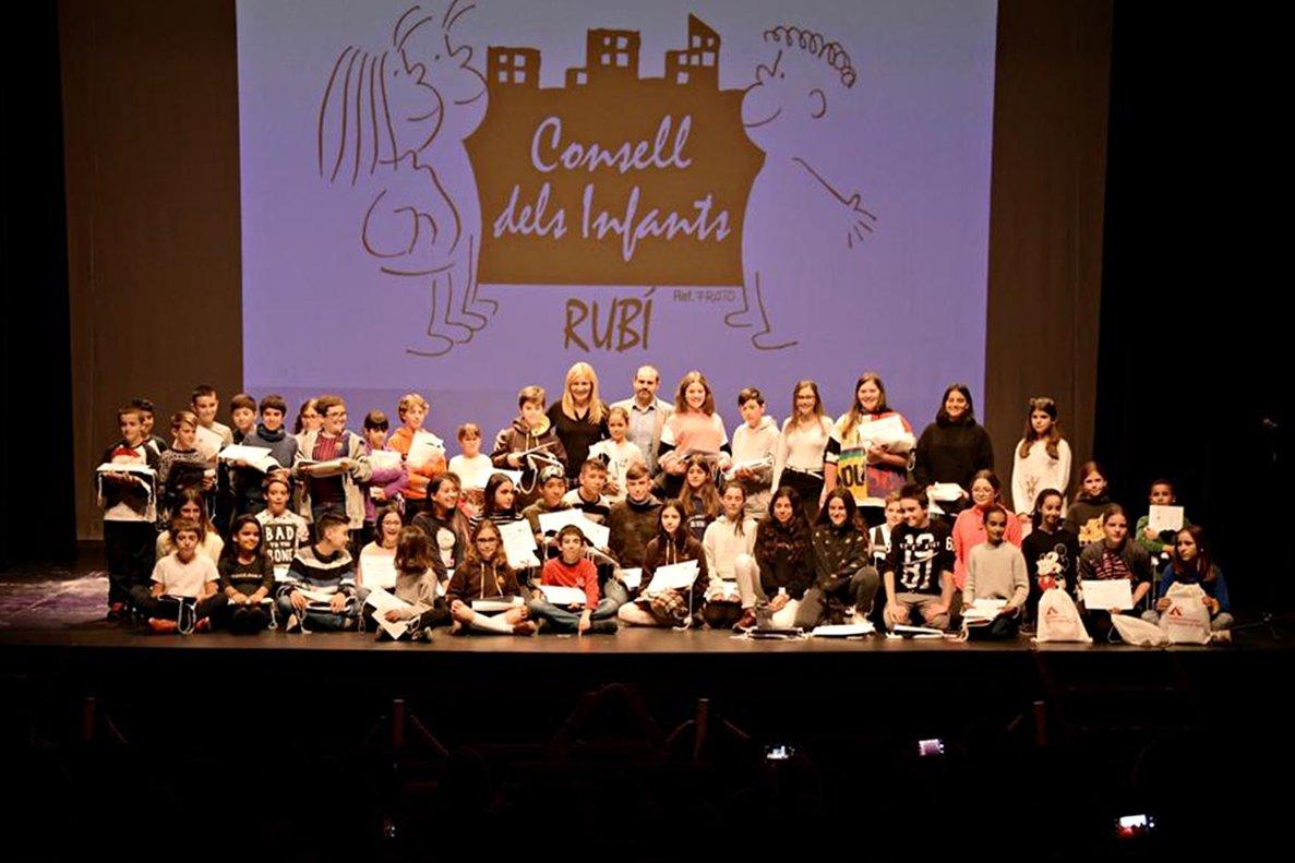 Consejo de los Niños y Adolescentes de Rubí.