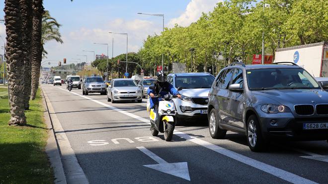 Los motoristas son los más afectados por accidentes de tránsito, según el balance de siniestralidad del Ajuntament .