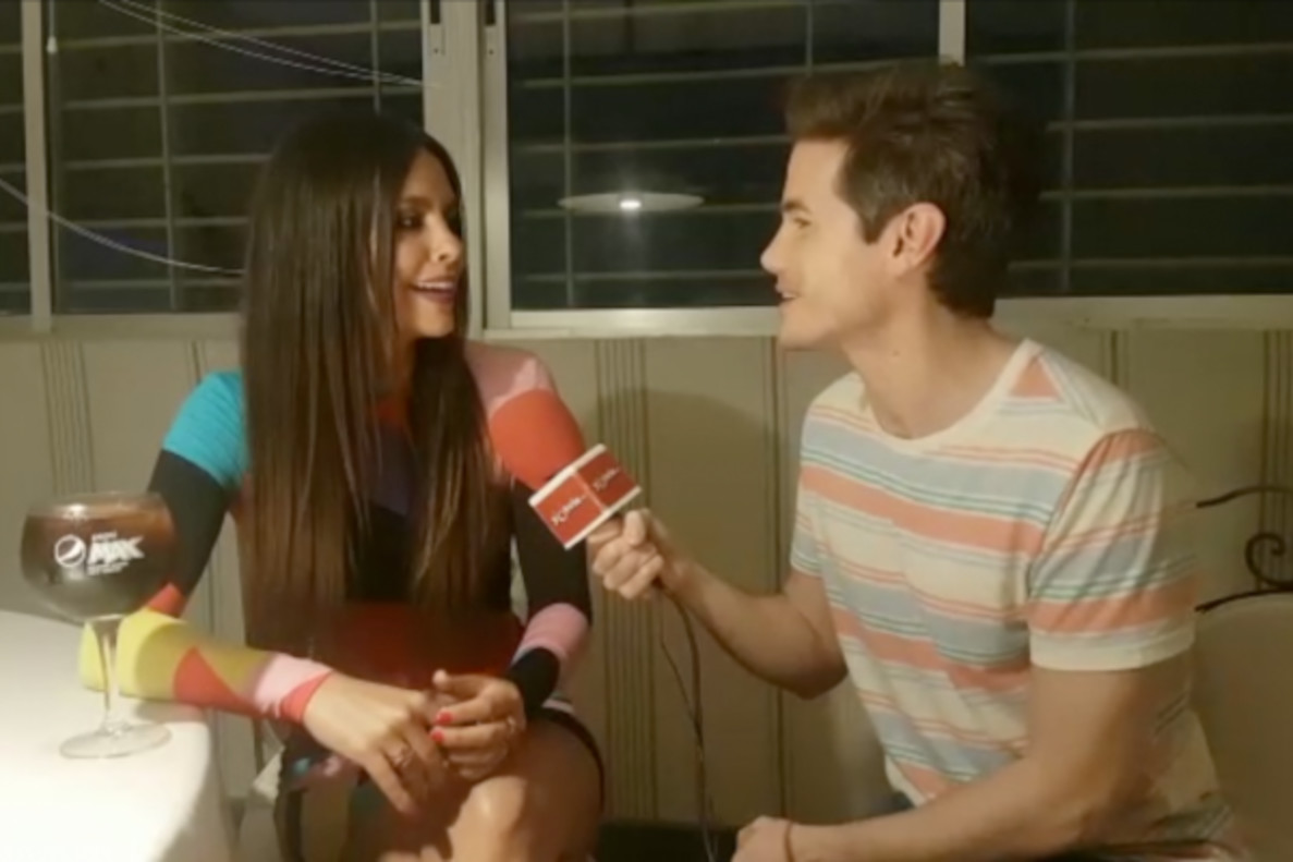 Cristina Pedroche nos cuenta que le encantaría presentar 'La voz' en Antena 3