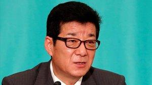 El alcalde de Osaka, Ichiro Matsui, en julio del 2019