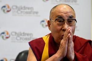 El Dalai Lama, líder espiritual del Tíbet.