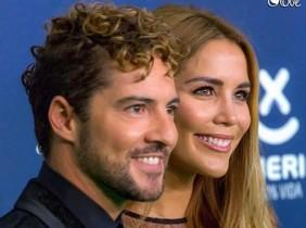 David Bisbal y su pareja, Rossanna Zannetti.