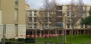 Edificio de Villiers-sur-Marne donde la policía arrestó a los dos sospechosos.