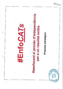 #EnfoCATs, el documento que mantiene a Junqueras en prisión.