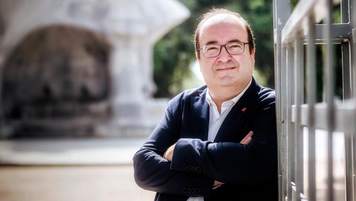El primer secretario del PSC repasa la actualidad política con EL PERIÓDICO