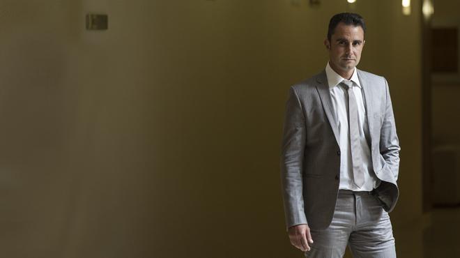 Entrevista con Hervé Falciani en Barcelona.