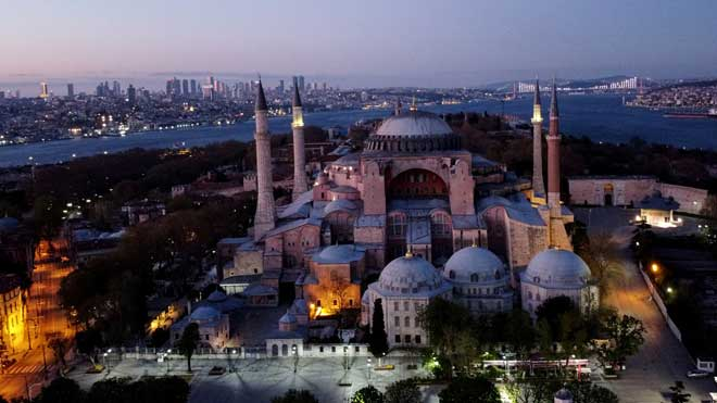 Estambul empieza el mes del Ramadán.