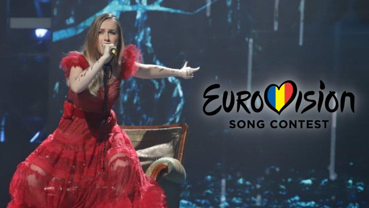 Ester Peony, representante de Rumanía en Eurovisión 2019.