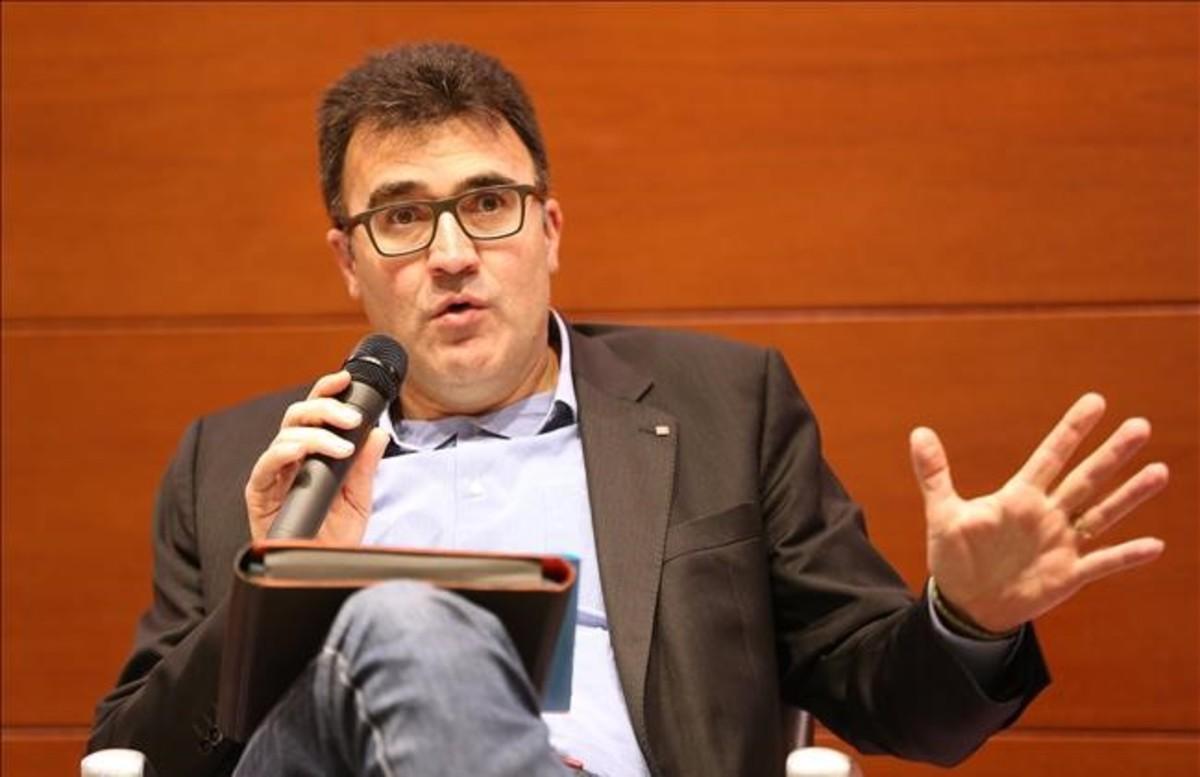 El exsecretario de HisendaLluís Salvadó, el pasado marzo.