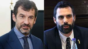 Ferran López y Roger Torrent.