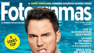 La cabecera de la portada del actual número de Fotogramas.