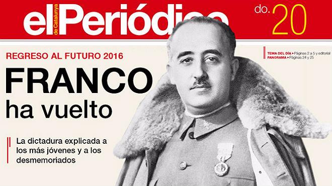 Franco ha vuelto. La dictadura explicada a los más jóvenes.