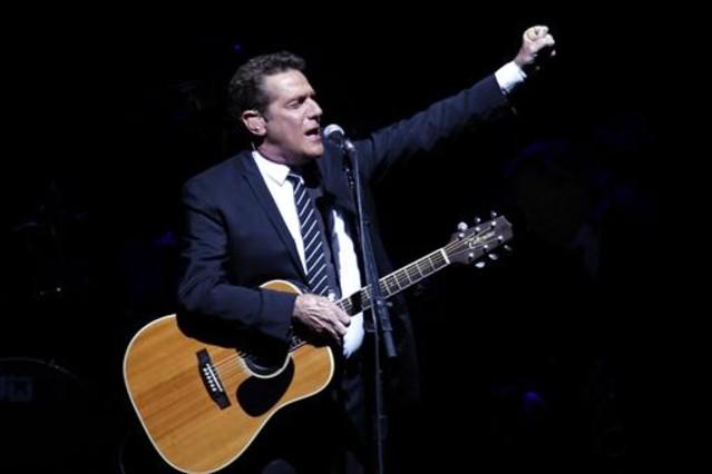 Glenn Frey, durante el concierto que ofrecieron los Eagles en el Palacio de Deportes de Madrid en el 2009.