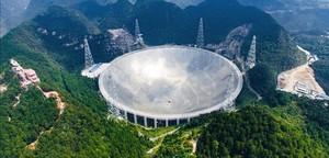El gran radiotelescopio puesto en marcha por China