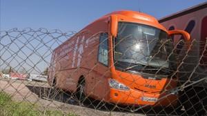 La fiscalía pide al juez que inmovilice y prohíba circular al bus tránsfobo