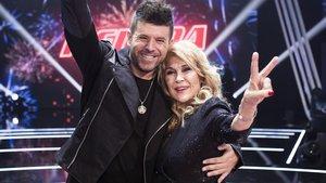 Helena Bianco y Pablo López.