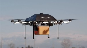 Dron de Amazon.
