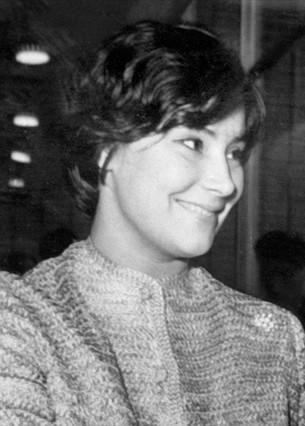 Imagen de la actriz rusa Tatiana Samoilova, tomada en 1961.