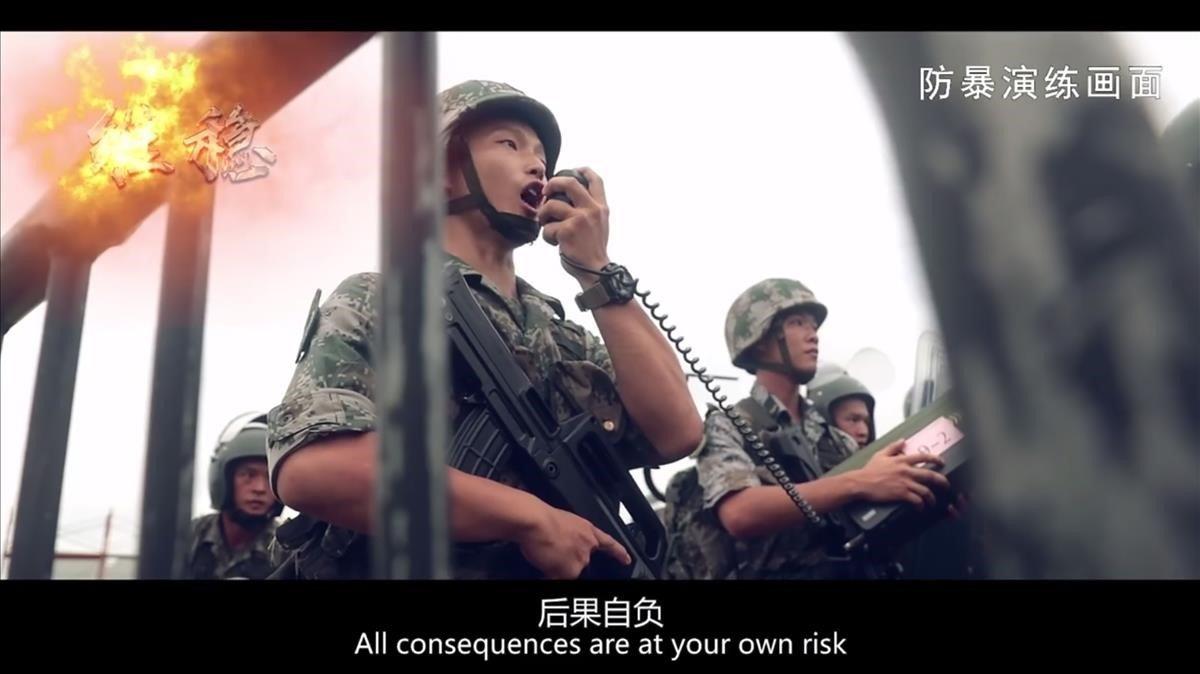 Caos en las primeras horas de huelga general en Hong Kong
