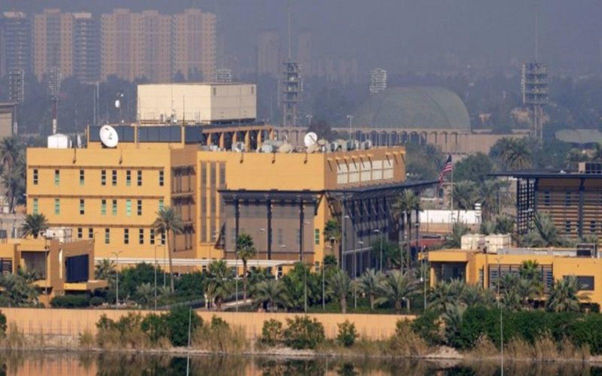 La embajada de los Estados Unidos en Irak.
