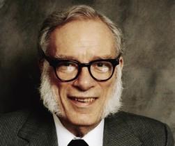 Isaac Asimov, autor de la 'Trilogía de la fundación'.
