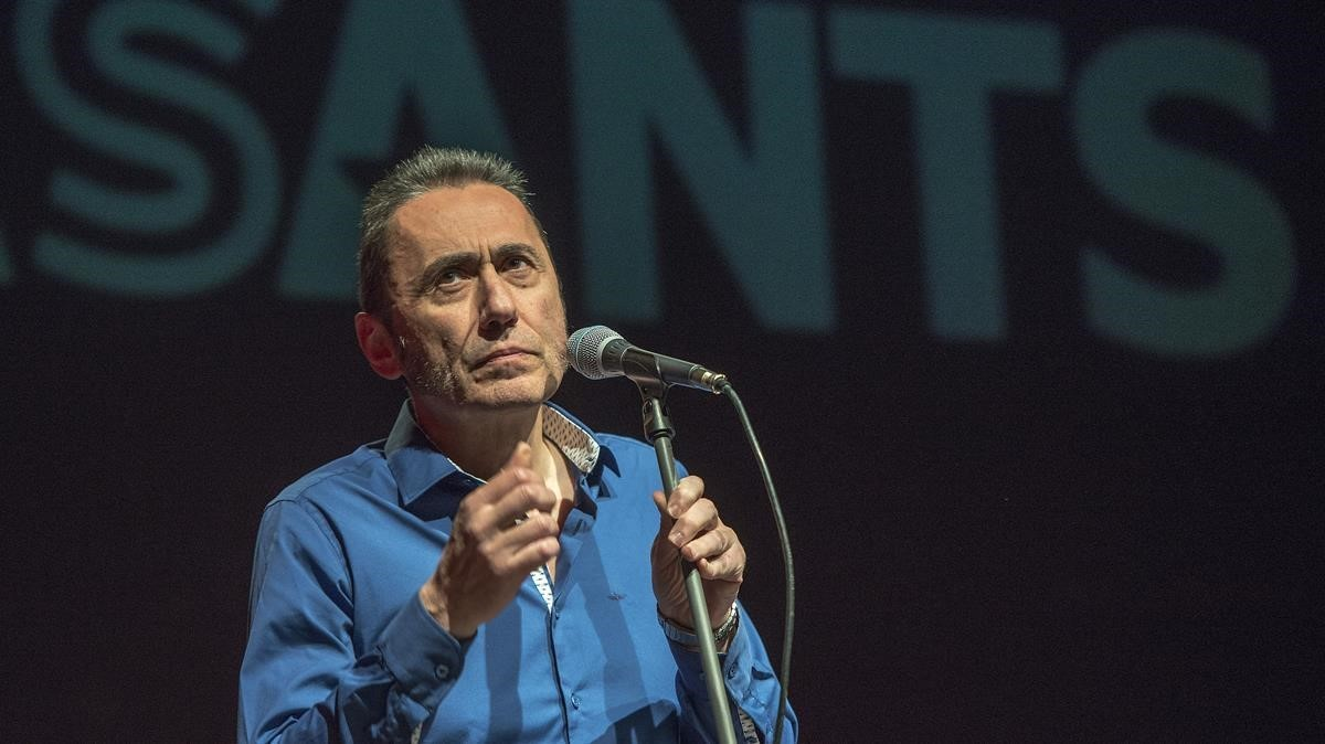 Jabier Muguruza en el Auditori Barradas de LHospitalet.