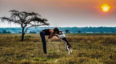 Las aventuras africanas de Ginger y una 'musungu' de Poble Sec