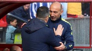 Abelardo: «Firmaria tenir les ocasions d'avui en cada partit»