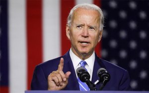 Joe Biden,candidato demócrata a la Casa Blanca.