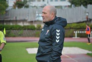 José Manuel Serrano, entrenador del C.F. Gavà.