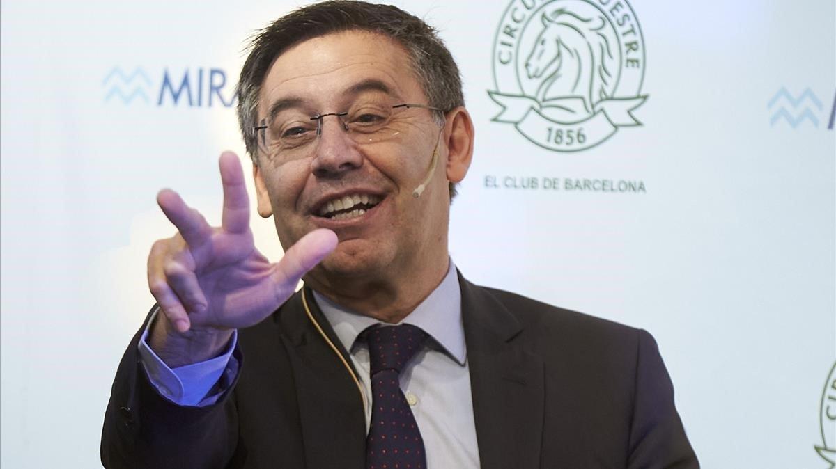 Bartomeu dice que aplicará el erte en el Barça pese a la aportación extra del primer equipo