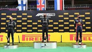 Lewis Hamilton, Valteri Bottas y Max Verstappen consiguen el podio de F1 en el GP de Estiria