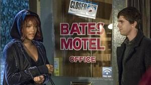 Rihanna, en una imagen promocional de la serie Bates Motel.