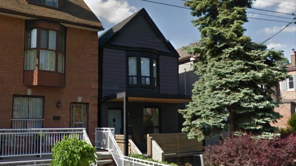 La casa de Meghan Markle en Toronto.