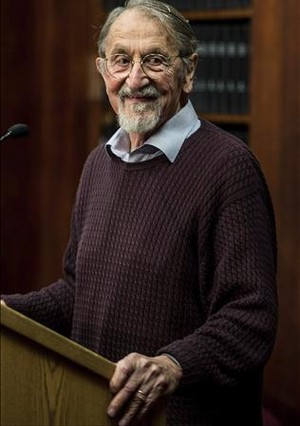 Martin Karplus, premio Nobel de Química.