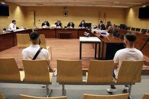 Los dos acusados de violar a una mujer en Girona, durante el