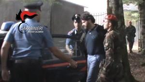 Detención el pasado año del jefe de la Ndrangheta,Ernesto Fazzalari, en Calabria.
