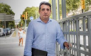 Manuel Bustos, exalcalde de Sabadell, el pasado mes de julio.