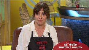 Melani Olivares en 'Masterchef Celebrity'.