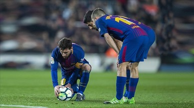 La falta que no falta de Messi