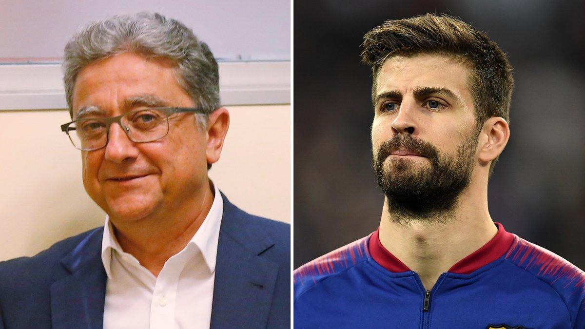 """La bronca entre Piqué i Millo s'enquista a Twitter: """"La veritat no s'esborra"""""""