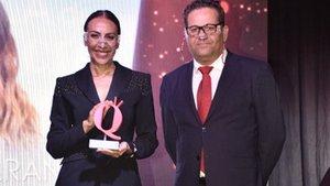 Mónica Naranjo, mejor presentadora en los premios Aquí TV por 'La isla de las tentaciones'