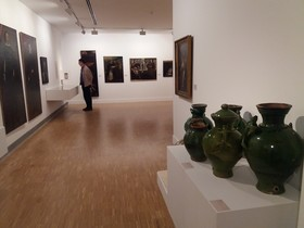 Muestra 'Dosier 1: los colores del barroco en las colecciones del Museu de Mataró'.