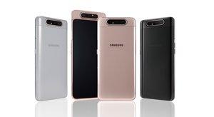 El nuevo Samsung A80.