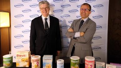 La leche de Ordesa da el salto internacional
