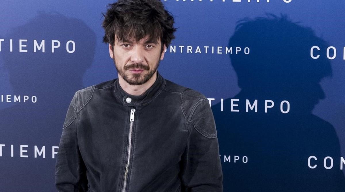 Oriol Paulo, en la presentación de 'Contratiempo' en Madrid, el 19 de diciembre del 2016.