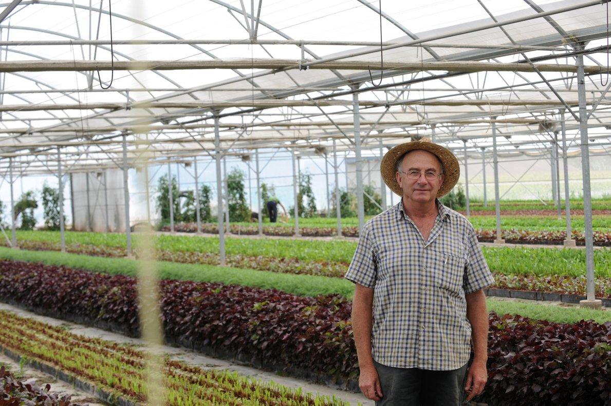 El agricultor Josep Pàmies, que promueve productos naturales para curar enfermedades.
