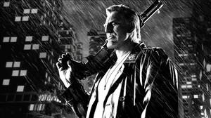 Mickey Rourke, en la adaptación cinematográfica del cómic Sin City.