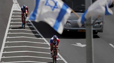 El escenario del Giro se abre en Israel