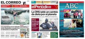 Prensa de hoy: Las portadas de los periódicos del viernes 9 de agosto del 2019